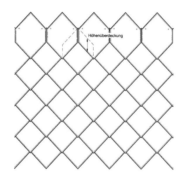 Схема остроугольной кладки - 9